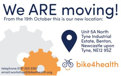 We ARE moving on the 16th October…to our new location, OPENing again on Monday 19th October.