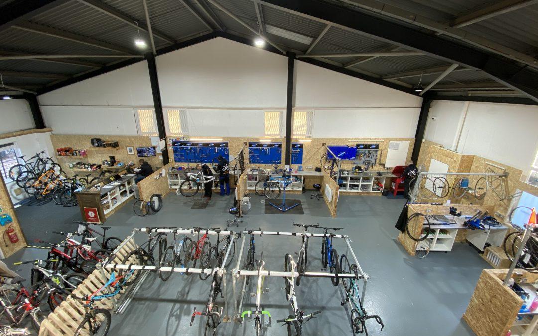 We're adding a new mezzanine floor to our Benton Workshop!