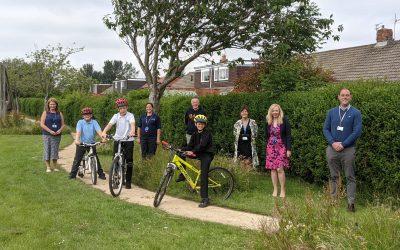 NHS Trust's cycling scheme gets off to a 'wheelie' good start